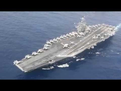 Dual Aircraft Carrier Strike Group Operations