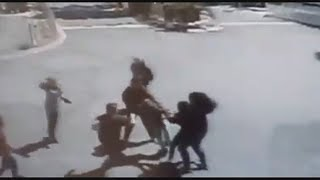 Brutal After-school Fight Caught On Tape