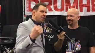 Daniel Glass Interview at NAMM 18 on Drum Talk TV