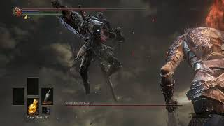 Trying to defeat Slave Knight Gael in Dark Souls 3