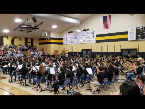 Riverwatch Middle School Band Performance - Don't Stop Believin'