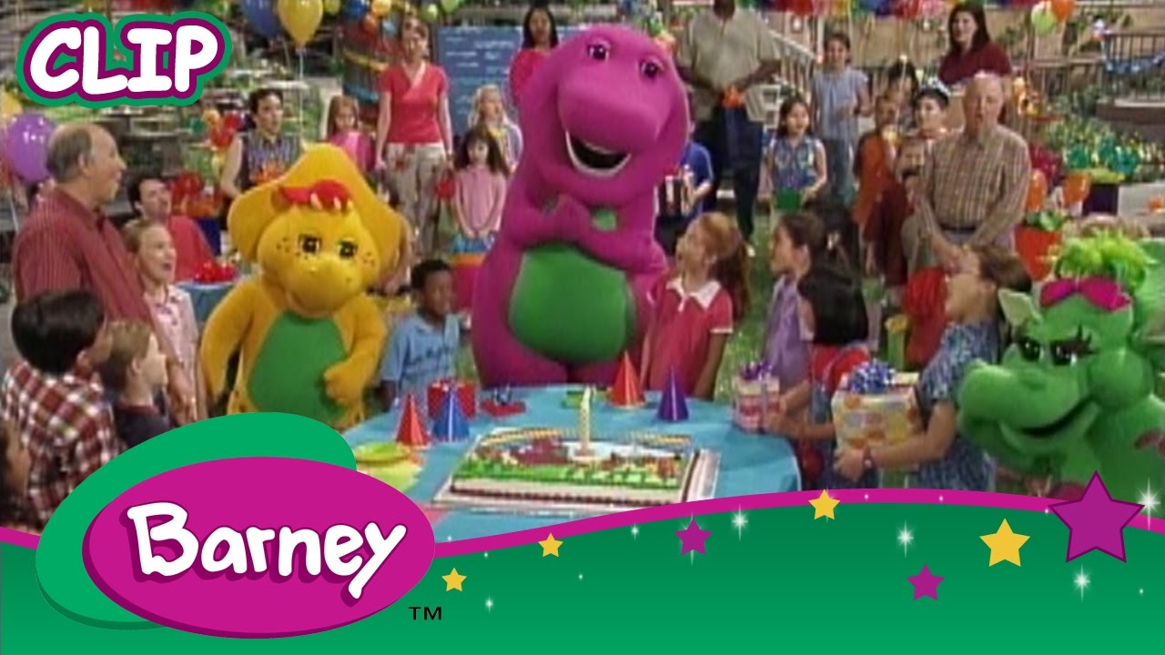 Barney - We Wish you a Merry Christmas and a Happy New Year! - YouTube