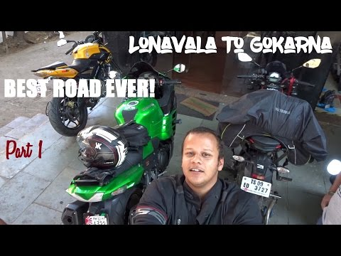Lonavala To Gokarna NH4 Part 1 (Ft. ZX14R)