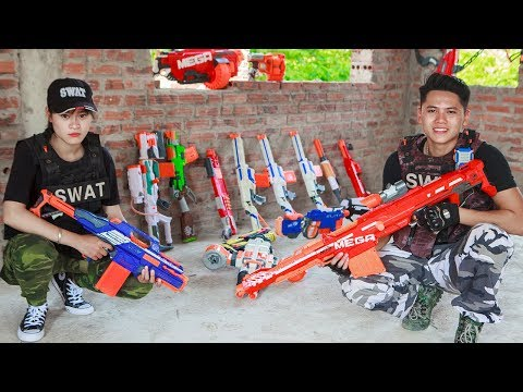 LTT Nerf War : Captain SEAL X Warriors Nerf Guns Fight Criminal Group Defend Dangerous Arsenal