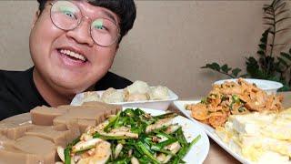 요리 별거 없네요...ㅎㅎ Tofu Meat Kimch…