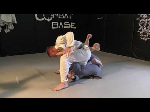 Stacking Spider Guard Pass by Chris Haueter