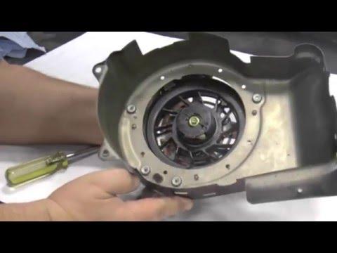 how to fix ryobi blower pull cord