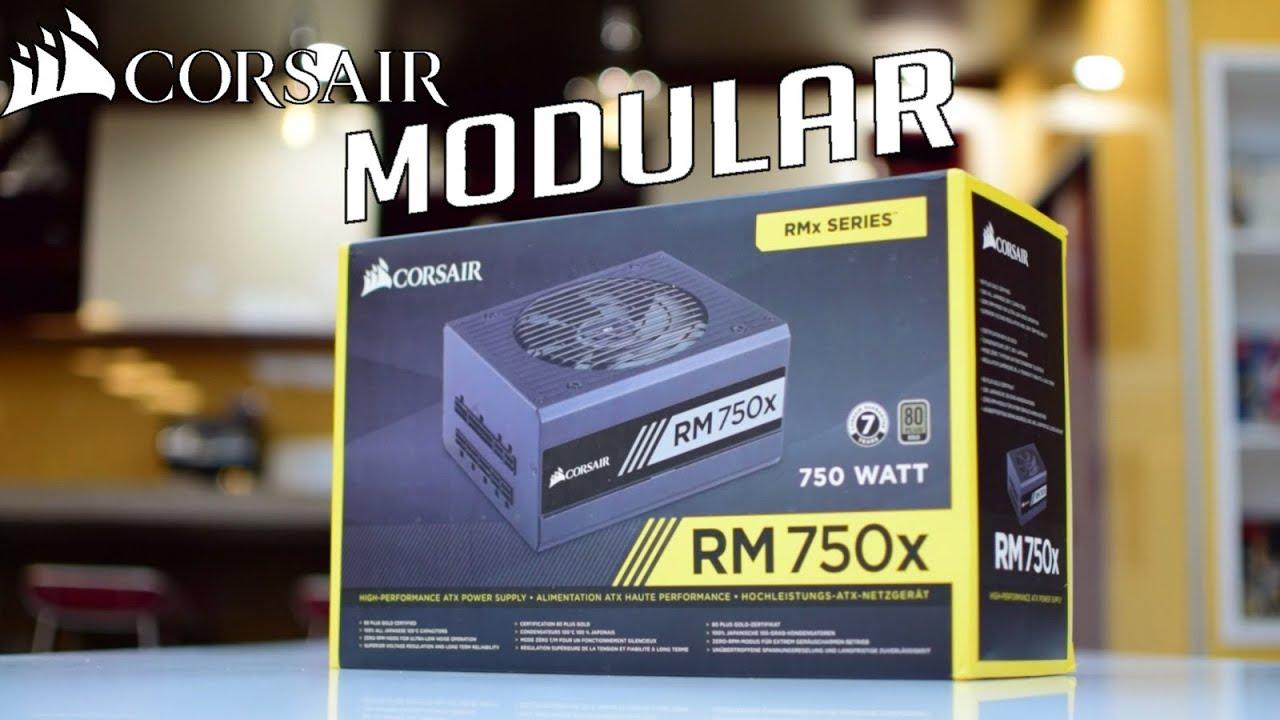 CORSAIR RM750X RECENSIONE