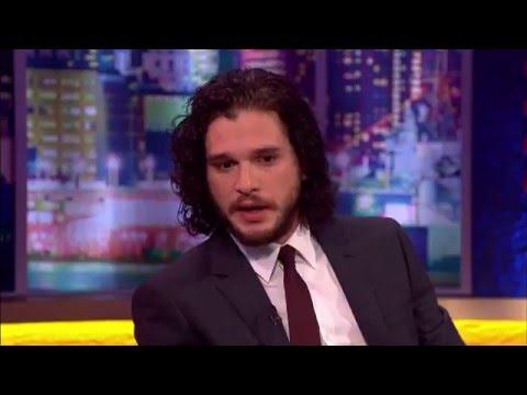 Kit Harington on Jonathan Ross Show | 2 April 2016