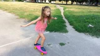 Как научить ребёнка кататься на скейте