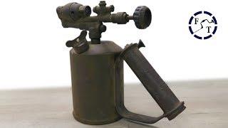 Antique Blowtorch Restoration and Test