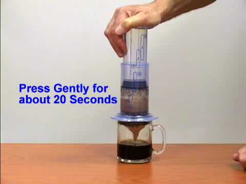 Chef Tools Aeropress Coffee Espresso Maker Demo