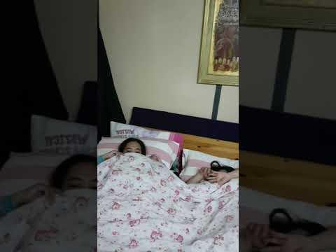 Gentip tkw sedang tidur