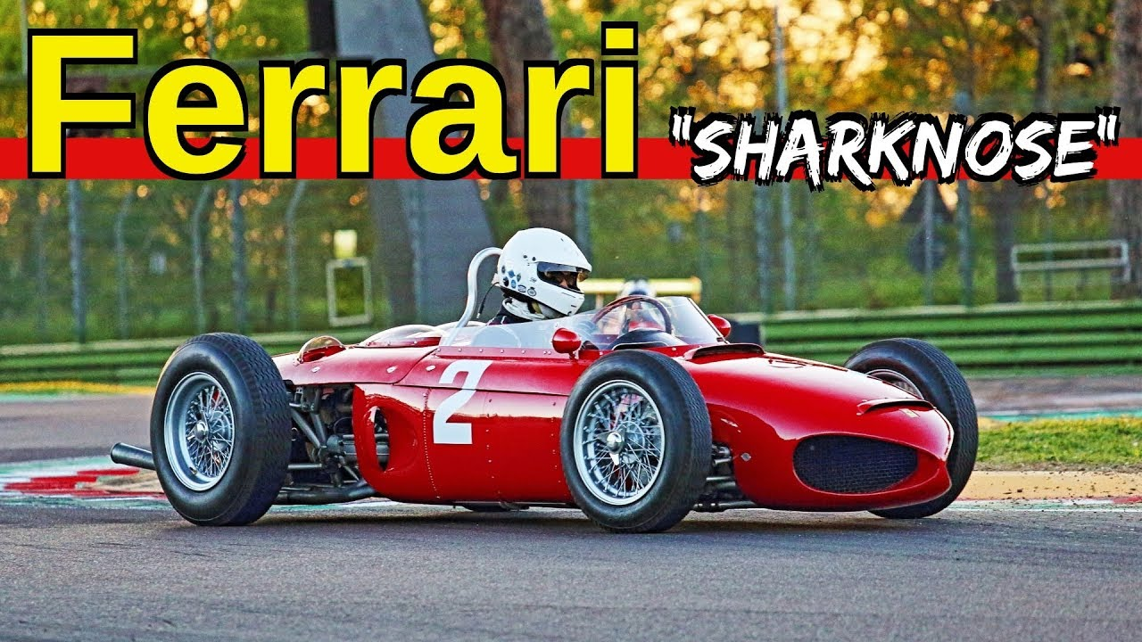 2x Ferrari 156 F1 Sharknose 1 5 Litre V6 Engine Warm Up Sound Action At Imola Circuit Youtube
