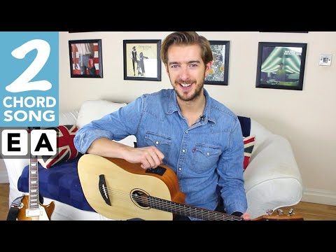 Easy 2 chord Sg #2  Silence is Easy  Starsailor TEN guitar sgs with two chords