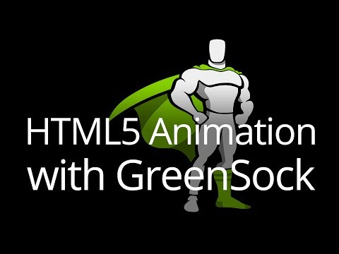 Intro to HTML5 Animation with GreenSock (GSAP) Tutorial (Live Streamed)