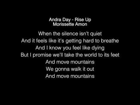 Morissette Amon - Rise Up Lyrics (Andra Day) LIVE on Wish 107.5 Bus