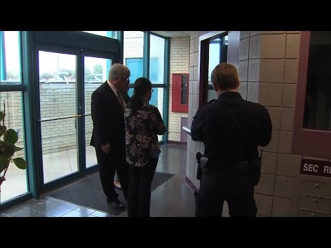 Sini Mathews Arrives At Richardson Police Department