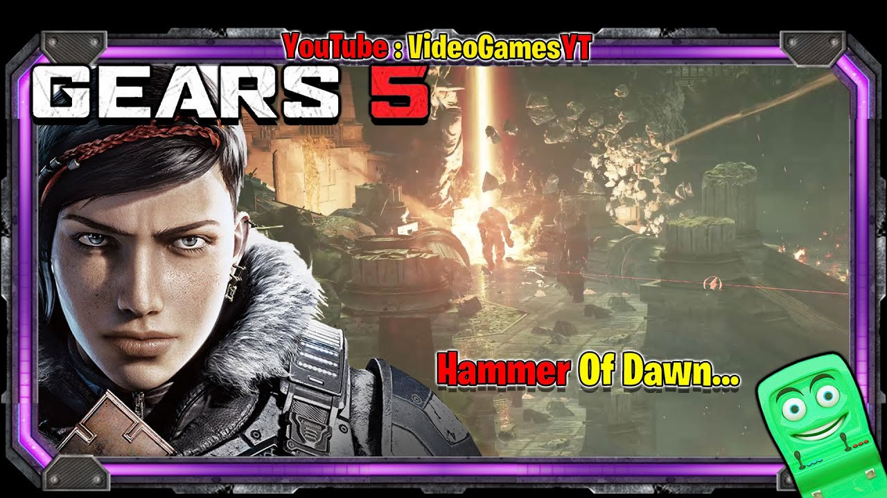 GEARS 5 - Hammer Of Dawn - Gameplay part 45 | Video Games