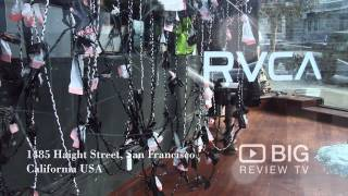 RVCA a Clothing Stores in San Francisco selling Clothes for Men and Women