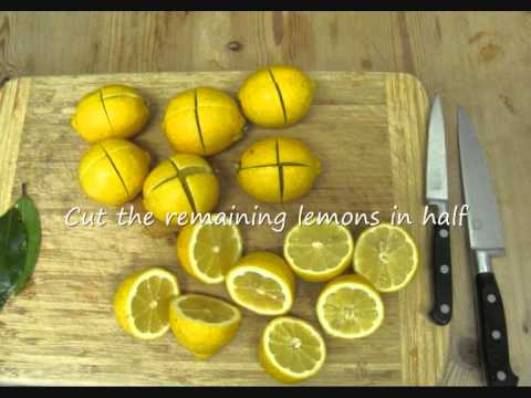 How to make Preserved Lemons