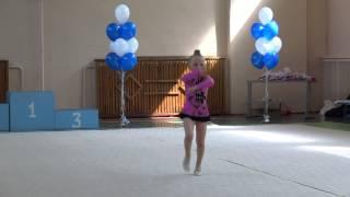 Художественная гимнастика. Дебют! 1 Место!!!!!!!!!!!!!!!! 1-ый год обучения