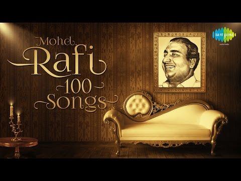 Mohammed Rafi - Top 100 Songs | One Stop Audio Jukebox