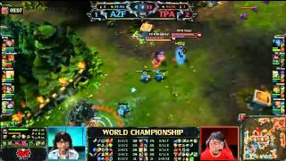 Repeat youtube video Season 2 世界冠軍 冠亞賽 TPA vs. AZF #4