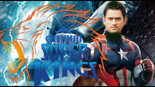 chennai super kings ( CSK comeback ) - Captain America Troll - IPL 2018