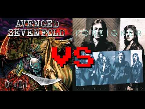 Bat Vision - Avenged Sevenfold vs Foreigner (Mashup)