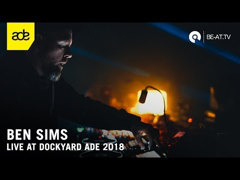Ben Sims @ Dockyard Festival ADE 2018 - Machine Stage (BE-AT.TV)