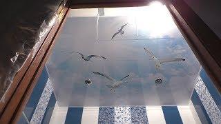 видео Ремонт и отделка потолка
