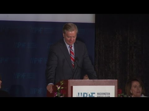 Lindsey Graham jokes about murdering Ted Cruz