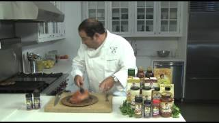 Emeril Puts His Essence Seasoning On A Juicy Rib Eye!