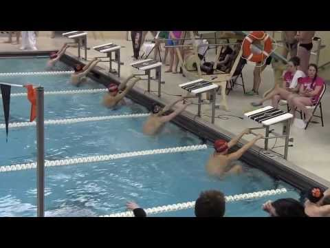 2014 Libertyville High School - 100y Back Stroke Pool Record (50.07) - Snarski