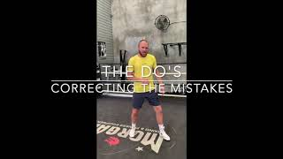 BOXING TIP - Backhand Straight