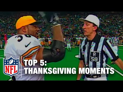 Top 5 Thanksgiving Day Moments | NFL Now