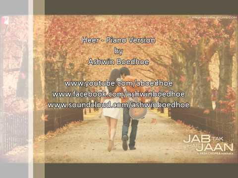 Yash Chopra's Jab Tak Hai Jaan - Heer - Instrumental by Ashwin Boedhoe - Full Song