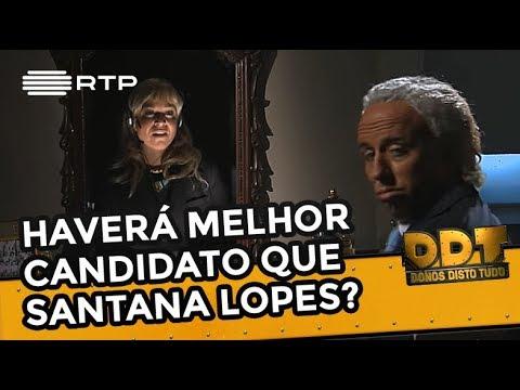 Haverá melhor candidato que o Pedro Santana Lopes?   Donos Disto Tudo   RTP