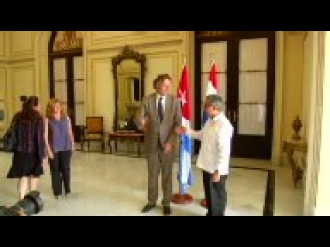 Dutch and Cuban Foreign ministers meet