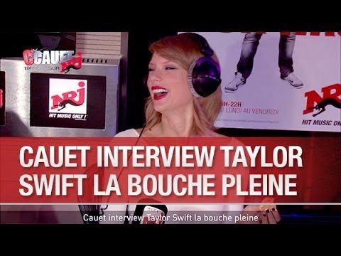 Cauet interview Taylor Swift la bouche pleine - C'Cauet sur NRJ