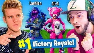 Baixar DUOS With Ali-A In Fortnite Battle Royale!