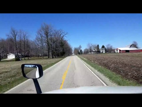 Bigrigtravels Live! - Fremont, Indiana to Lake Odessa, Michigan - April 8, 2017