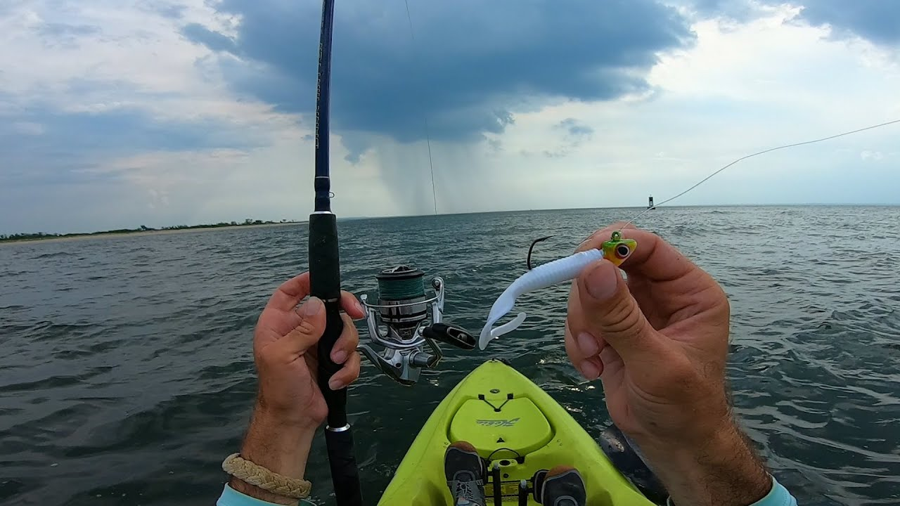 Caught in a Nasty Storm While Fluke Fishing