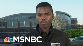 University of Missouri Student Body President Speaks Out | MSNBC