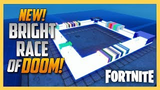 NEW! Fortnite Creative Bright Race of Doom | Swiftor