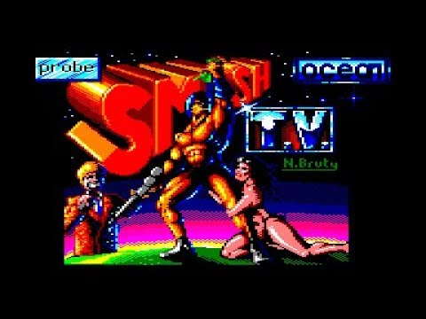 Smash TV Review for the Amstrad CPC by John Gage