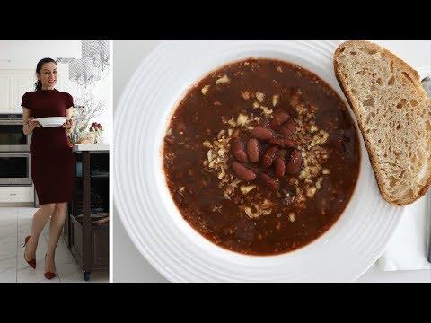Богатый и Супер Полезный Суп из Красной Фасоли - Рецепт от Эгине - Heghineh Cooking Show