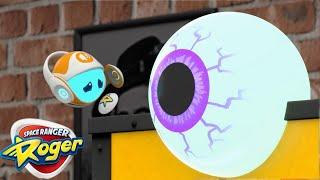Roger le héros sidéral | Roger et le les yeux rebondissants | Dessin animé complet