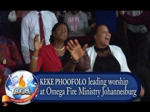 Keke Phoofolo -  Worship Medly (I need you oh I need you, IMELA and I just wanto to say)
